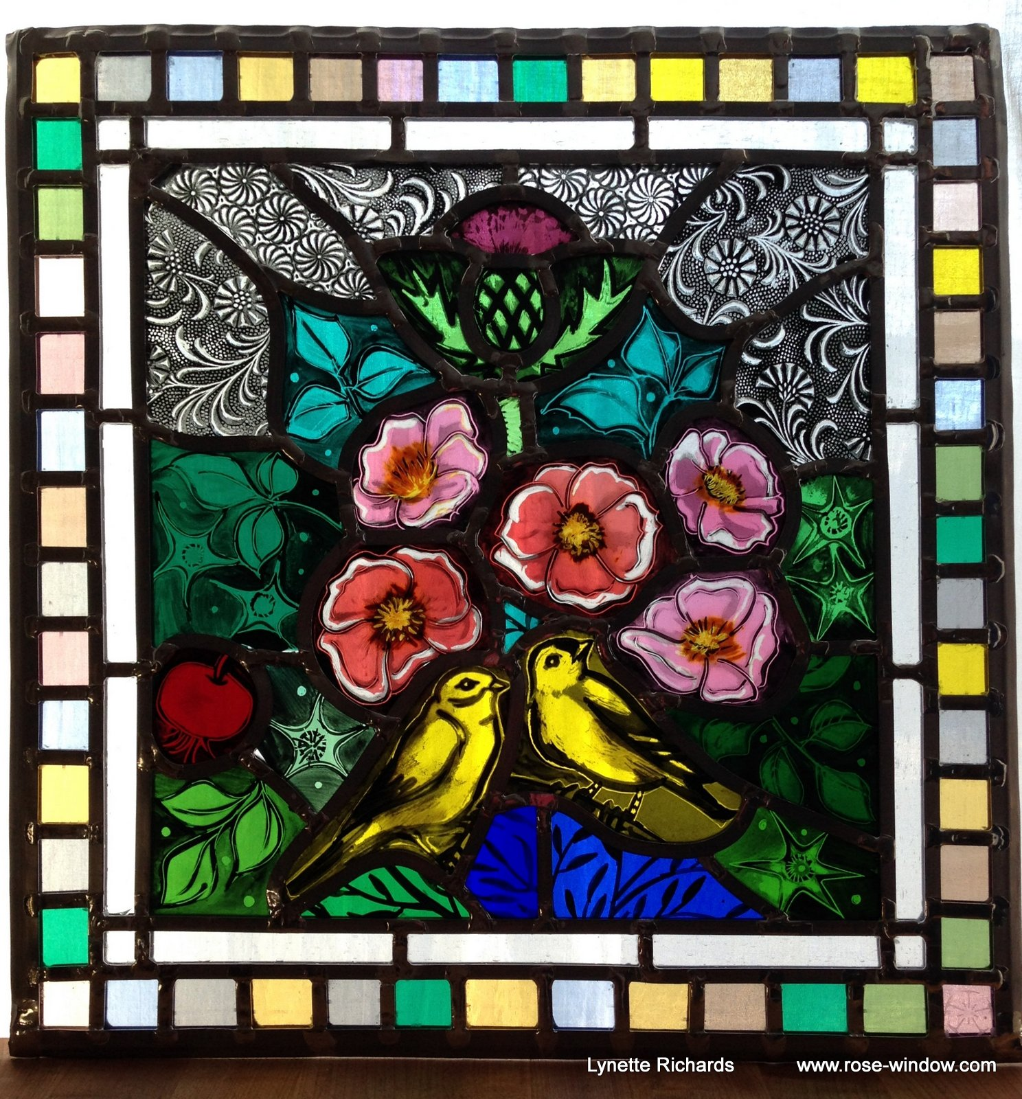Art – Rose Window Stained Glass