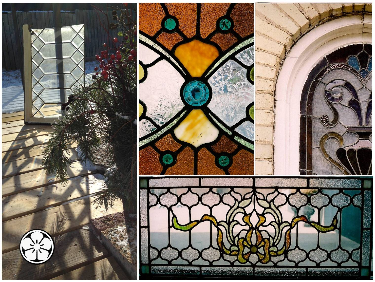 conservation – rose window stained glass